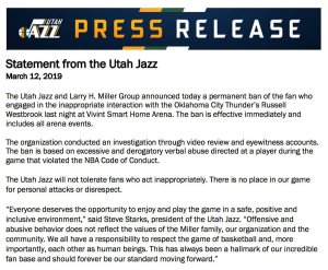Jazz statement